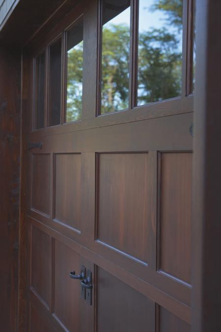 I love the look of carriage garage doors! Clopay Door Blog | Part 2: How to Buy Garage Doors - Garage Door Construction Materials