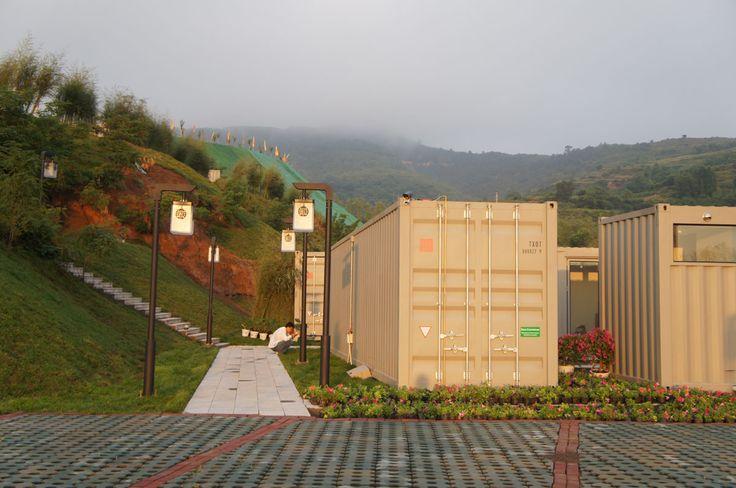Xiang Xiang Xiang Pray House Shipping Container Hotel, China