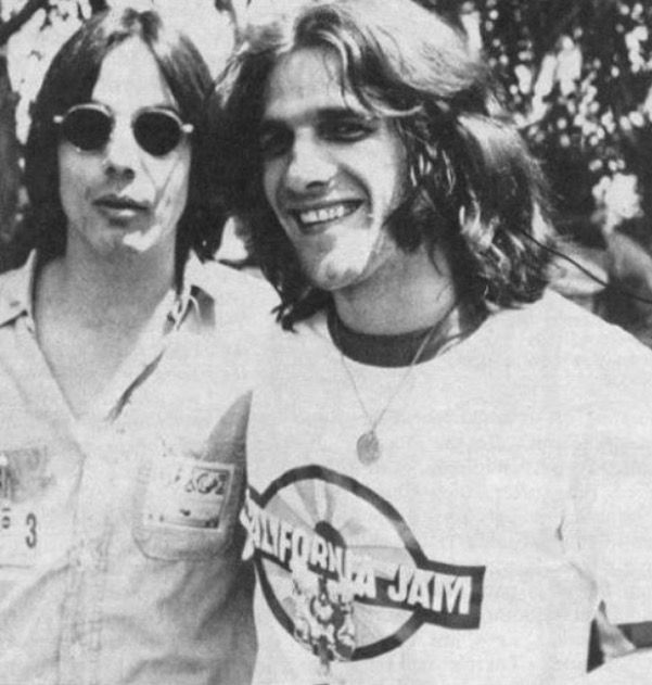 Glenn Frey with Jackson Browne
