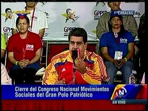 """Maduro denuncia """"bloqueo financiero"""" en contra de Venezuela"""