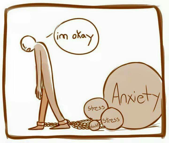 """It's just easier to say """"I'm okay"""" sometimes..."""