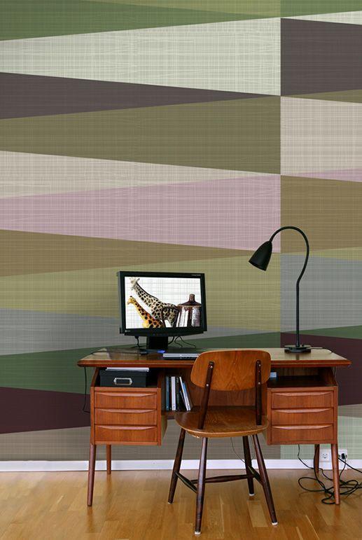 "Wallpaper (""Harlekin Pite"" by Ulrika Majstrovic Hansèn/Ginger Design)"