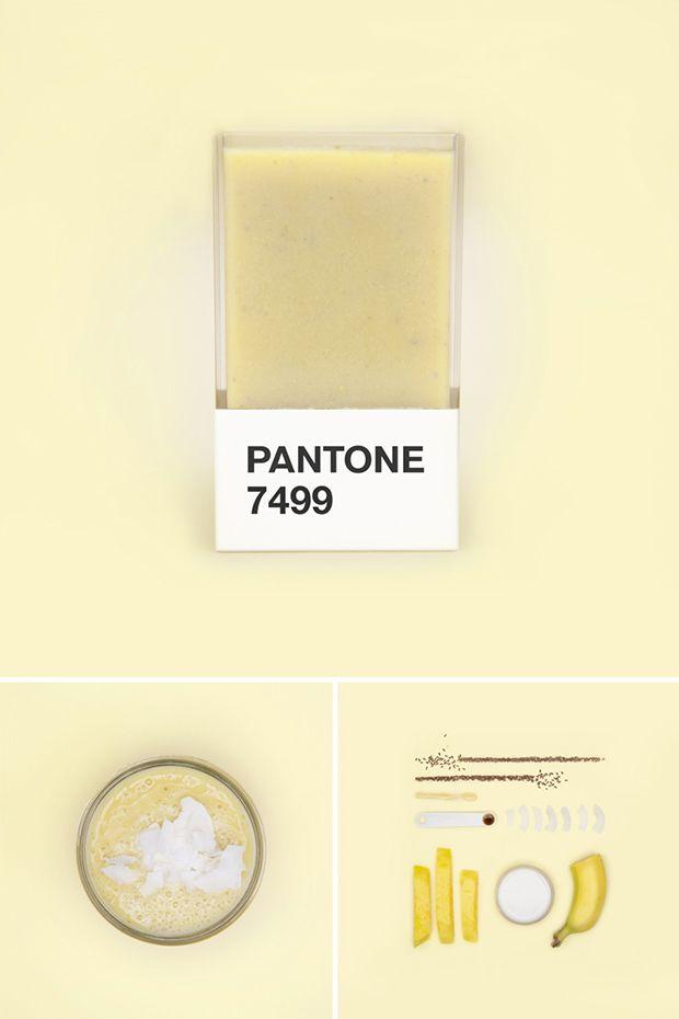 Pantone Smoothies - receitas;