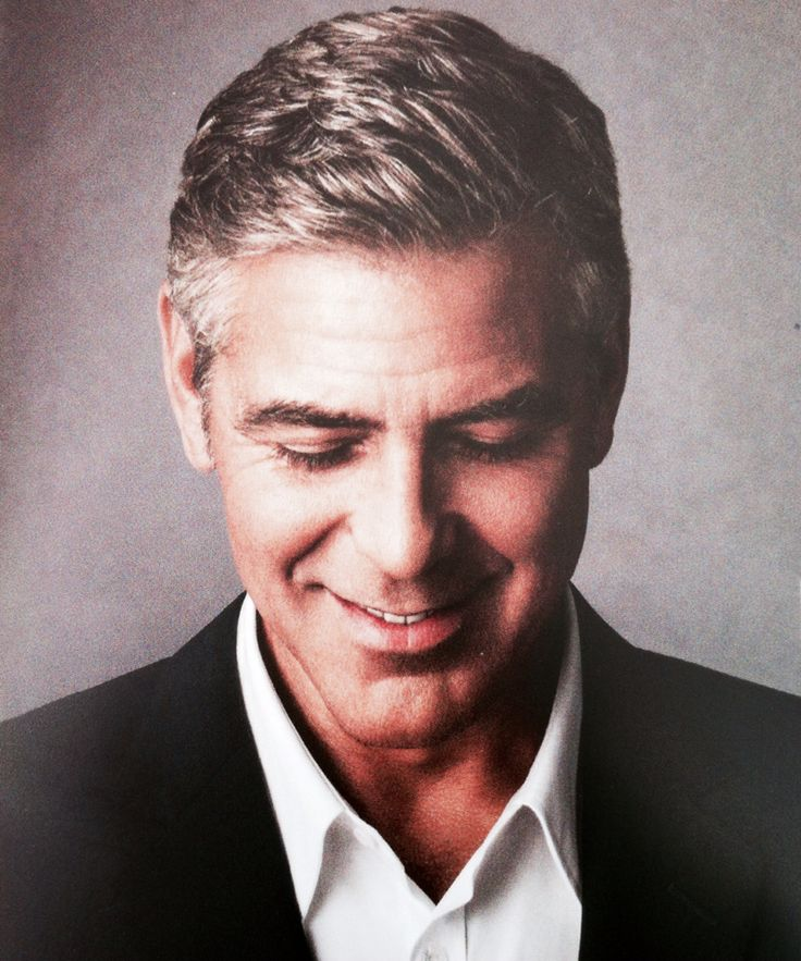Here's Proof That Clooney Only Gets Better With Age - Page 5 E6fa5bc8244624428d71d486da42ff38--george-clooney-mens-hairstyle