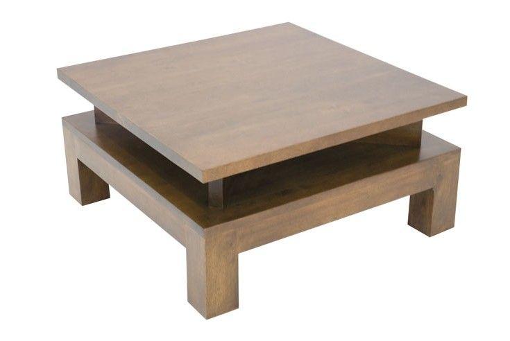 Table Basse Hevea 70cm Helena Table Basse Bois Table Basse Table De Salon
