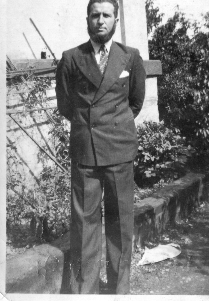 Oupa Campbell Martin Smith 16.12.1938 (JHB - Voorttrekker Monument