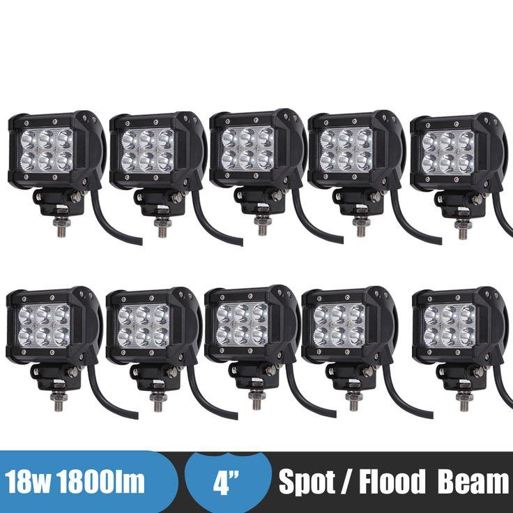 $125.00 (Buy here: https://alitems.com/g/1e8d114494ebda23ff8b16525dc3e8/?i=5&ulp=https%3A%2F%2Fwww.aliexpress.com%2Fitem%2F10PCS-18w-4-Inch-Off-Road-LED-Work-Light-Fog-Lamp-Spot-Flood-for-Jeep-Truck%2F32723107023.html ) 10PCS 18w 4 Inch Off Road LED Work Light Fog Lamp Spot Flood for Jeep Truck Car ATV SUV Boat 4WD ATV Auxiliary Driving Headlight for just $125.00