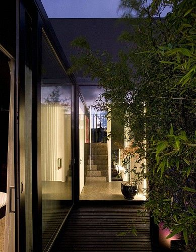 3 Mews Houses | ODOS Architects #circulation