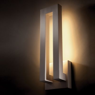 Forq Indoor/Outdoor LED Wall Sconce by Modern Forms.  $269. Different finishes available