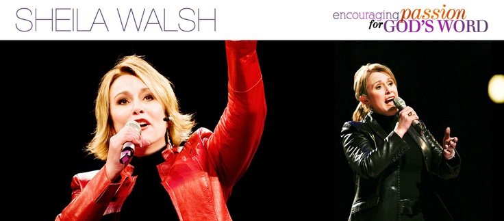 Sheila Walsh is a powerful Bible teacher and best-selling author from Scotland with over 4 million books sold. A featured speaker with Women of Faith® conferences, she has reached more than 3.5 million women by combining honesty, vulnerability, and humor with God's Word.