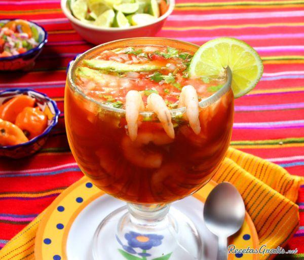 Cocktail de camarones mexicano