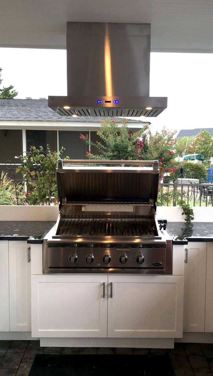 7 best retactable window wall images on pinterest for Outdoor kitchen grill hood