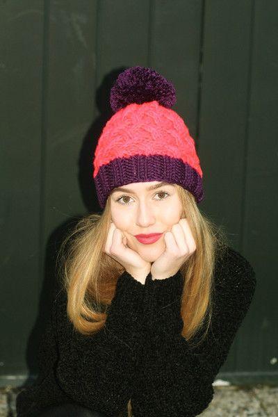 HiMalaya zimowa czapka z pomponem  w Barabella_shop na DaWanda.com
