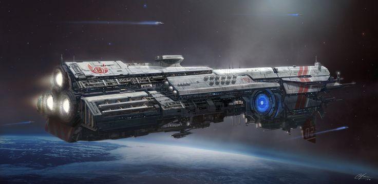 Battlecruiser ISFA Oliver Cromwell