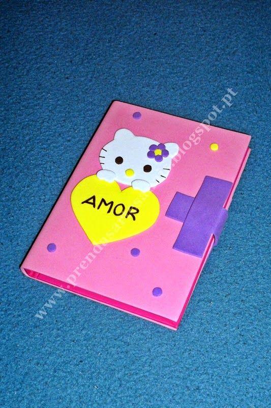 Hello Kitty - Capa de Caderno