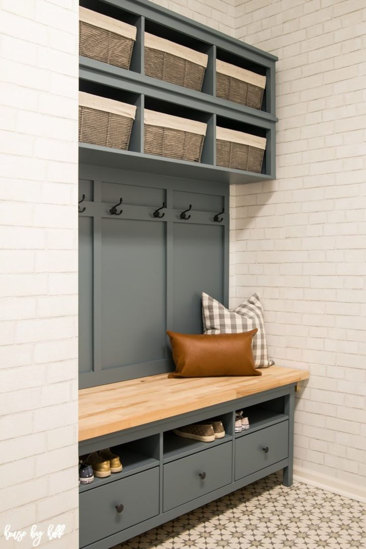 IKEA Hemnes Hack: DIY Mudroom Bench und Lagerung -…