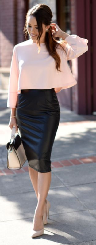 Best 25  Pencil skirt outfits ideas on Pinterest | Pencil skirts ...