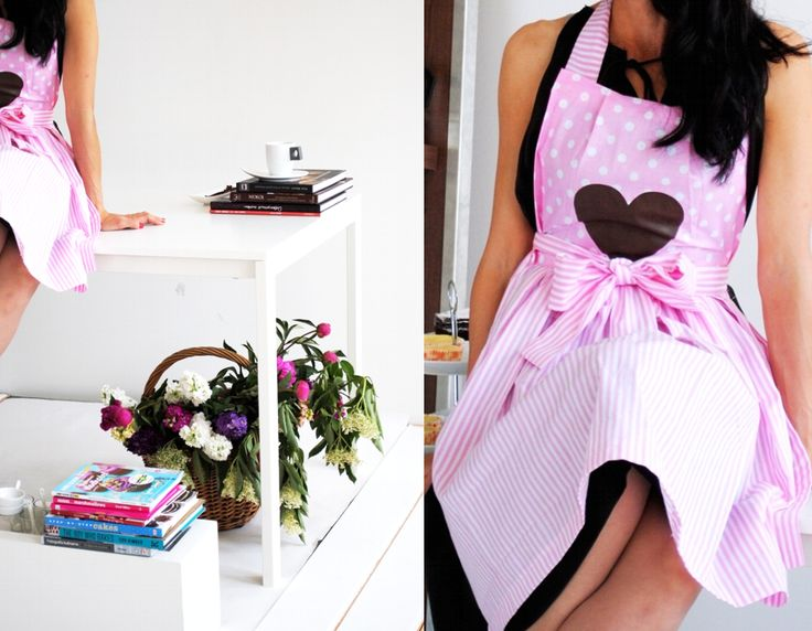lovelly apron heart
