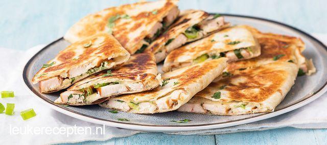 Kip kiev quesadilla's   Leuke recepten   Bloglovin'