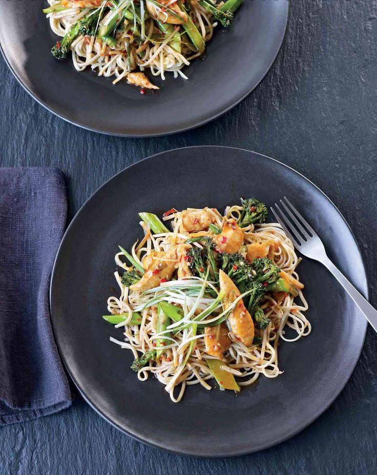 Chilli and ginger chicken noodles from Leiths How to Cook by Leiths School of Food and Wine | Cooked.com