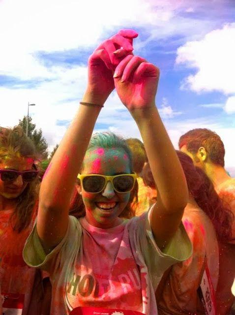 Holi Run se celebró en 2013 en Valdebebas, y en 2014 la carrera hindú del color repite escenario