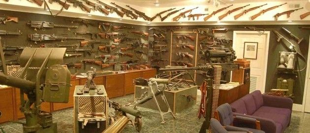 Man Cave Bar Ideas This Is A Gun Enthusiast S Ultimate