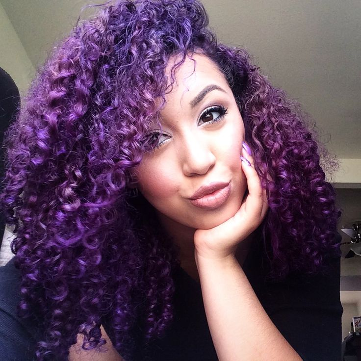 best 25 curly purple hair ideas on pinterest awesome