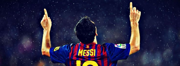 TOP PLAYER LEO MESSI FACEBOOK COVER