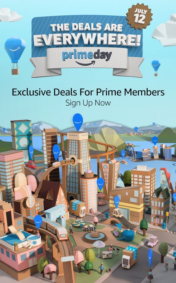Amazon Prime Day Deals 2016 https://www.amazon.com/tryprimefree?ref_=assoc_tag_ph_1467753108189&_encoding=UTF8&camp=1789&creative=9325&linkCode=pf4&tag=canlyn-20&linkId=15cd707dcddf3e085a968277c14bd38c - Make sure you're ready by signing up for a free 30-day trial of Amazon Prime to take advantage of all the best deals of the 2016 Amazon Prime Day on July 12!