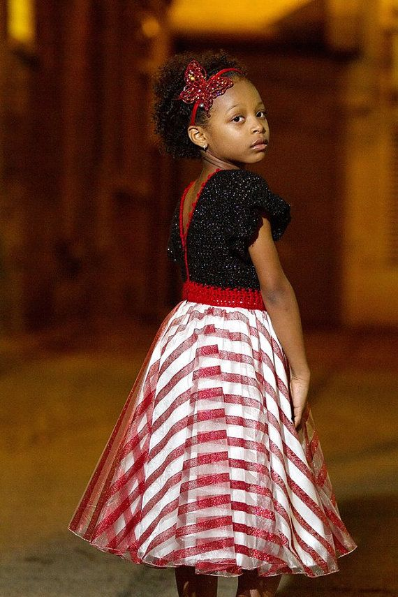 Special Occasion Dress / Christmas Dress / Red by AnzhelikaCrochet