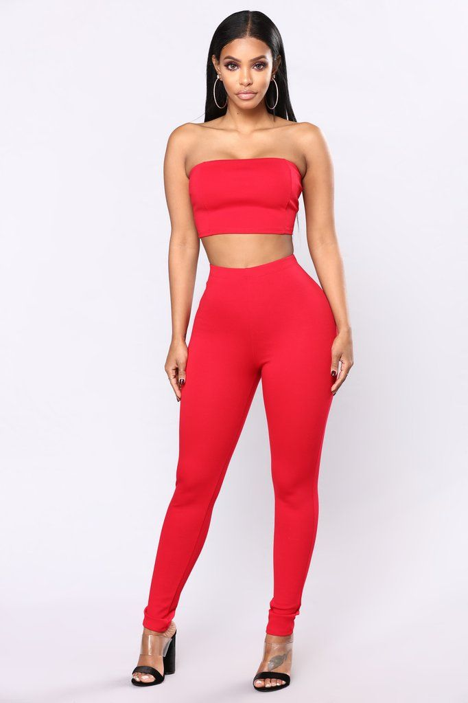 dfe48f6ca8 Bondoc III Pant Set - Red