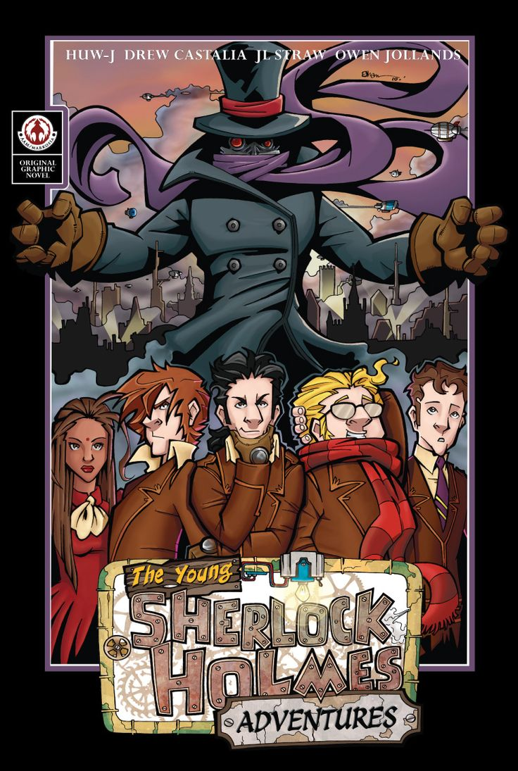 best images about sherlock holmes comic book covers on markosia graphic novels the young sherlock holmes adventures 2 99