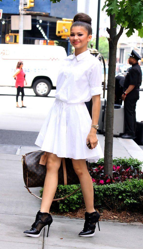 Zendaya Coleman Shirtdress