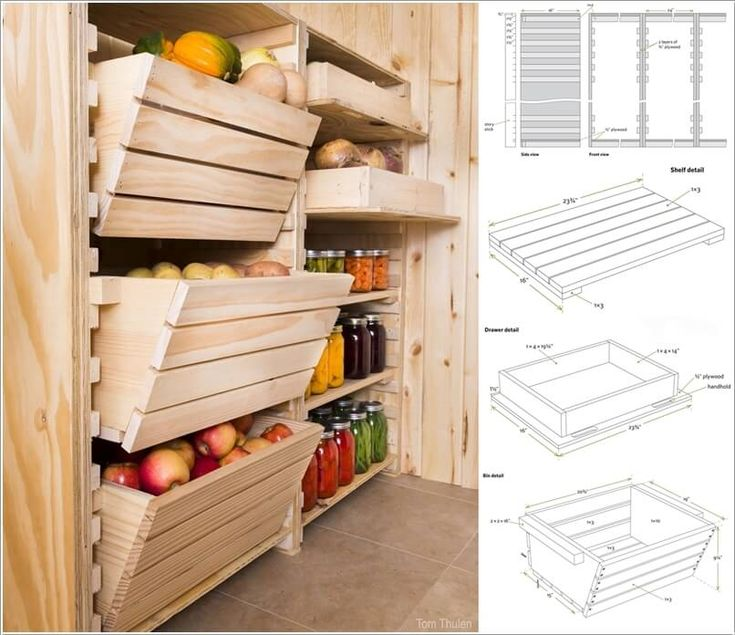 This Root Cellar Storage System Is All You Need To Keep