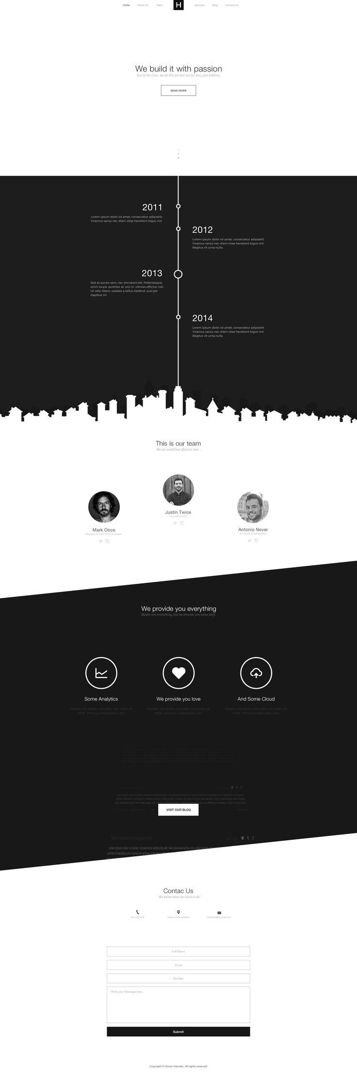 Die besten 25+ Kostenlose webseitenvorlagen Ideen auf Pinterest ...