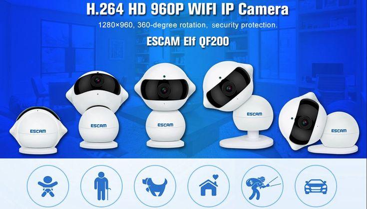 Een beetje toezicht houden op de baby of andere plekken in huis is altijd een fijn gevoel. Met deze mooi HD WIFI IP Camera kan dat met gemak. Voordeel: Je kunt via de APP ook gewoon praten naar bijv. de baby of nog even een slaapliedje voor hem/haar zingen :-)  Nu maar €35  http://gadgetsfromchina.nl/wifi-ip-camera-960p-baby-cam/  #Gadgets #Gadget #Baby #Vrouwen #WIFI #Camera #IP #Tech #App #iOS #Android #China #GadgetsFromChina