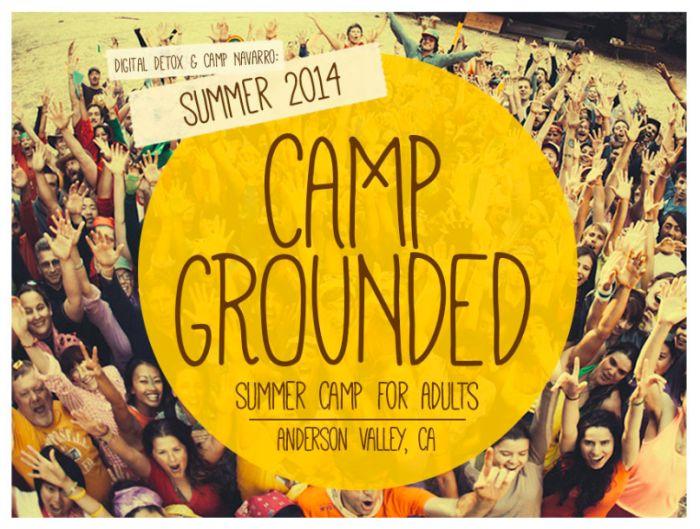 CAMP GROUNDED 2014 REGISTRATION NOW OPEN | Digital Detox