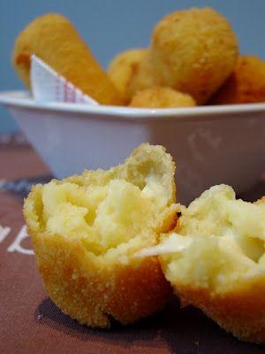 Croquettes Pommes de Terre - Mozzarella _ Pour les plateaux foot de mon chéri !!! Perfect !!!