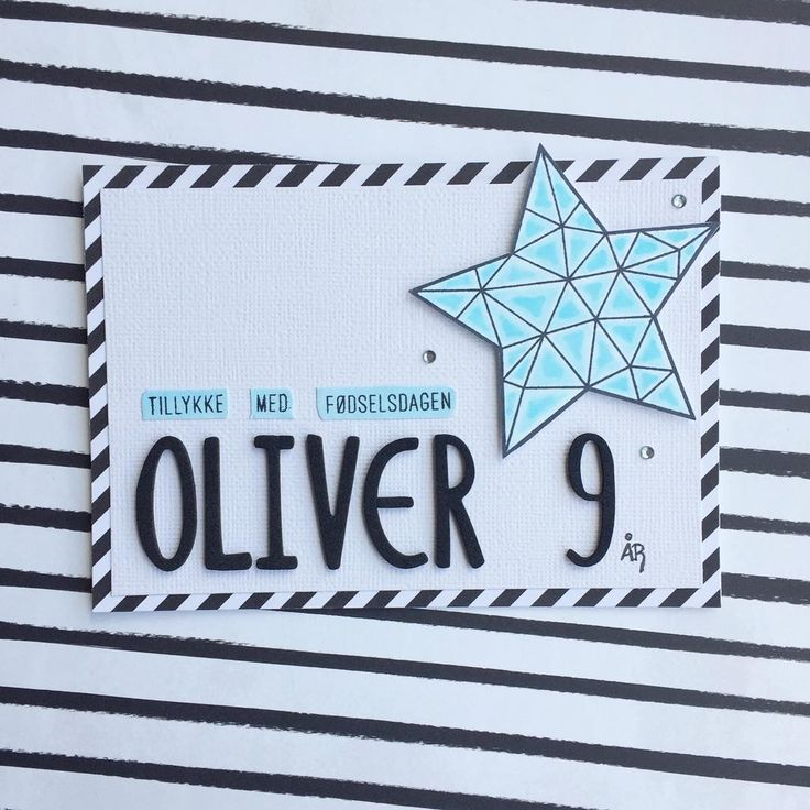 Happy Birthday Oliver  This star from @krumspring_ stamp set 'Star Power' is perfect for young boys  cool and simple ⭐️ #mitkammer #cardmaking #copiccoloring #krumspringstamps #starpower #clearstamps #cardmakinghobby #birthdaycard #danishdesign #cool #simple #handmadewithlove #craftytime #craftygirl #crafting #krumspringtriangles #happytime