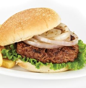 One of my summer secrets to cooking burgers is to fry the onions on a pan with olive oil until they become caramelized onions. So much yummier that way! #SummerSecretsContest
