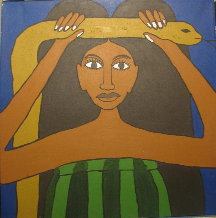 Mama Tchamba- Egun of the Mami Wata