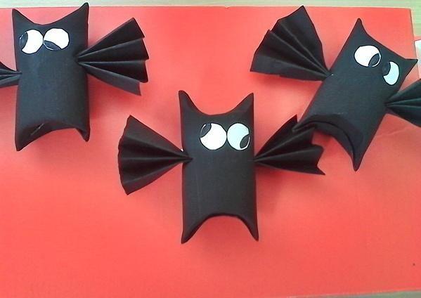 Die besten 25+ Halloween basteln mit klorollen Ideen auf Pinterest ...