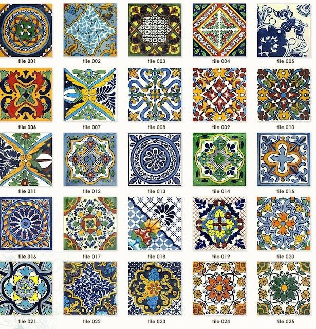 Pictures Of Tiles In Spanish