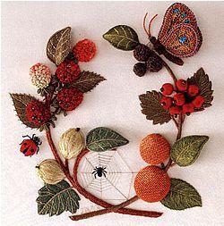 Stumpwork Embroidery: