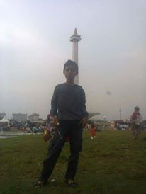 at monas-INDONESIA