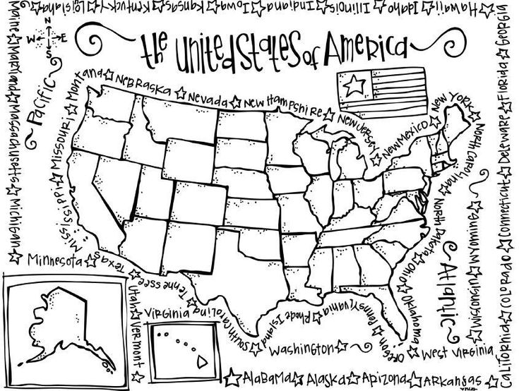 #coloring #pages #state #united #2020 (With images ...