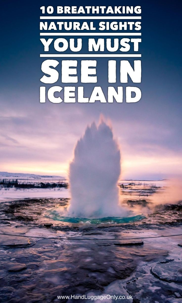 10 Breathtaking Natural Sights You'll Want To Explore In Iceland - Hand Luggage Only - Travel, Food & Photography Blog