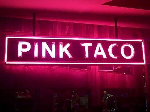 pink taco. las vegas.