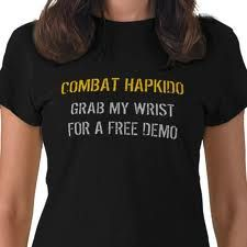 combat hapkido...yes, grab my wrist. -_I