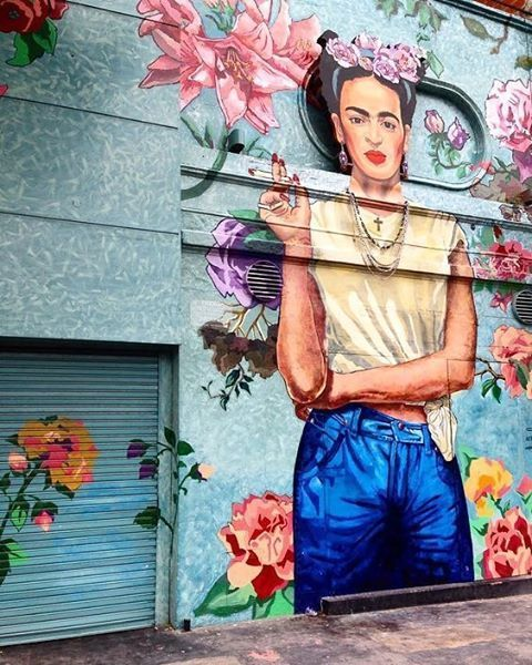 "5,027 Likes, 109 Comments - Design Junkie | Julieta Tello (@design.junkie) on Instagram: ""Hands up those Frida Kahlo lovers ! While exploring Argentina, two month ago, I forgot to post…"""